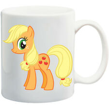 PERSONALISED MUG MY LITTLE PONY APPLE JACK  ANY NAME  * CHRISTMAS* GIFT birthday