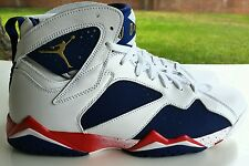 NIKE AIR JORDAN 7 VII RETRO OLYMPIC USA SIZE 12 304775-123