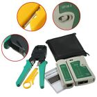 RJ45 RJ11 RJ12 CAT5 LAN Net Tool Kit Cable Wire Tester Stripper Crimper Plier