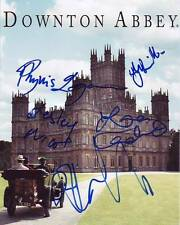 Downton Abbey Signed Autographed 8x10 Cast Photograph ( Signed by 5 )