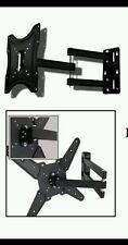 Staffa porta tv monitor da 26  a 55  supporto parete braccio 180° fino a 400