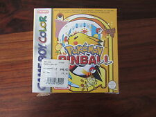 POKEMON PINBALL     -- NEUF / NEW  -----    GAME BOY COLOR