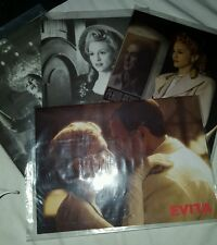 Very rare Madonna evita phonecards 4 sets ltd