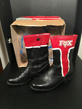 Fox Racing Vintage Motocross Boots sz.8 alpinestars lightly used with box
