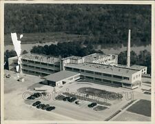 1950 Aerial George Lanier Hospital Langdale Chambers County Alabama Press Photo