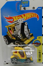 GOLF CLUB DRAG RACE ROD TEE'D OFF 2 YELLOW 35 2016 HW HOT WHEELS