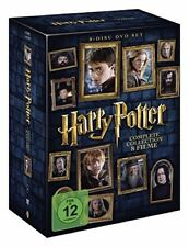Harry Potter Komplettbox Teil 1+2+3+4+5+6+7.1+7.2 * NEU OVP * 8 DVDs