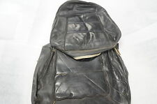 1963 - 1966 Corvette Leather Seat Cover 1 SEAT MARCH 65 BLACK OEM