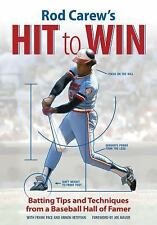 Rod Carew's Hit to Win: Batting Tips and Techniques from a Baseball Hall of Fame