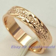 Size 10 Ring,REAL LUXURIANT 18K ROSE GOLD GP EMPAISTIC SOLID FILL GEP,Multi-size