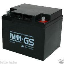Fiamm FG24204 12V 42Ah M6 Borne à vis LC-P1242AP Powerfit S312/40F6