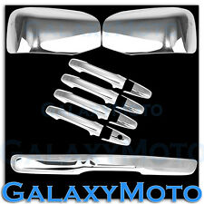 09-15 Honda Pilot Chrome Mirror No Turn Signal Hole+4 Door Handle+Tailgate Cover