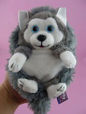 "Jay At Play Hideaway Pets Siberian Husky 5"" Foldable Stuffed Dogs Plush Toy"