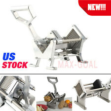 French Fry Potato Fruit Vegetable Cutter Slicer Commercial Quality W/ 3 Blades @