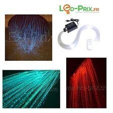kit fibre optique goutte d'eau 150 mètres + générateur RGB