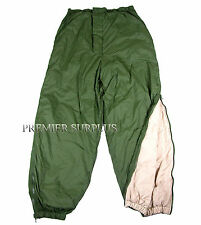 Genuine British Army Thermal Reversible Softie Trousers, Size Med, NEW, Fishing