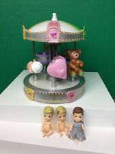 "MGA 5-Sies Tiny 2"" Doll Dolls 8"" Carousel Lot Rosey Bottom Baby Toys"