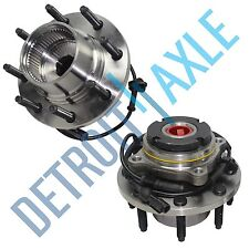 (2) New Front Wheel Hub & Bearing SRW Coarse Thread w/ABS FROM 3/22/99 - 4x4
