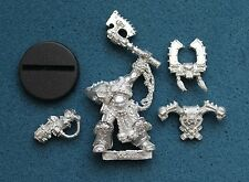 WARHAMMER 40K CHAOS SPACE MARINE KHARN THE BETRAYER KHORNE METAL OOP (G993)