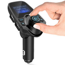 Car MP3 Player FM Transmitter Bluetooth Handsfree Car Kit Wireless Stereo Radio