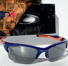 NEW Oakley HALF JACKET 2.0 New York METS BLUE Black Iridium MLB Sunglass 9154-42