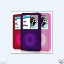 For iPod Classic 80GB 120GB 160GB Silicone Rubber Skin Soft Gel Case Cover X 3