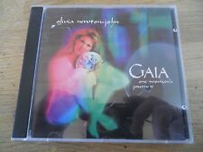 OLIVIA NEWTON-JOHN GAIA ONE WOMANS JOURNEY DANISH NCB 12 TRACKS CD ALBUM CMC DK*