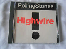 ROLLING STONES - HIGHWIRE RARE 1991 USA PROMO 1 SONG CD SINGLE