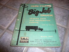 1956 Ford Truck Chassis Parts & Accessories Catalog - Series 700 - 900 Form 7596