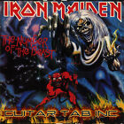 Iron Maiden Guitar Tab THE NUMBER OF THE BEAST Lessons on Disc