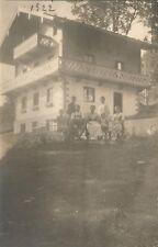 Villa Alpenblick, Berchtesgaden, alte Foto-Ansichtskarte von 1922