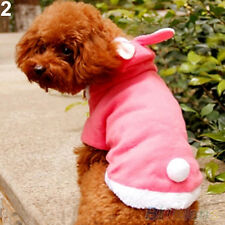 Trendy Pet Dog Cat Cute Bunny Warm Autumn Winter Clothes Puppy Costumes Apparel