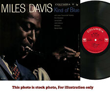 MILES DAVIS, Kind of blue, COLUMBIA CL-1355  2EYE  IN SHRINK