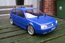 Kamtec Golf MK4 V5 GTi 1:10 rc car body shell + autocollant £ 20.48 Tamiya repro lexan