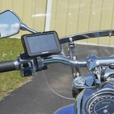 CLEARANCE! eCaddy Ball Motorcycle GPS Mount for Mirror Stem Chrome (Buy Direct!)
