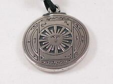 Talisman for Invisibility, Handmade pewter pendant,
