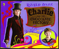 Book~ CHARLIE AND THE CHOCOLATE FACTORY ~2005 ~Johnny Depp ~Freddie Highmore