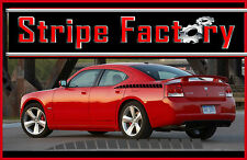 DODGE CHARGER REAR QUARTER DIVIDED SPEARS DECAL STRIPE 2006,2007,2008,2009,2010