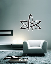 """Atheism Sign Wall Decal Large Vinyl Sticker 24"""" x 20"""""""