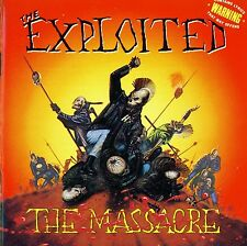 THE EXPLOITED THE MASSACRE DOPPIO VINILE LP 180 GRAMMI NUOVO E SIGILLATO