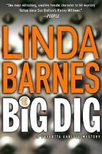 "The Big Dig 9 by Linda Barnes:  SIGNED""   (2002, Hardcover )"