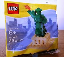 New LEGO STATUE OF LIBERTY 40026 New York City NYC Limited Release in 2012