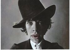 Mick Jagger Colour 6x4 Postcard Rolling Stones NEW