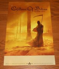 Children of Bodom I Worship Chaos Poster Original Promo 36x24