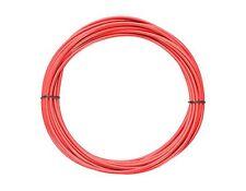 1 m Bowdenzughülle rot für Bremszüge von Jagwire