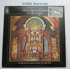 72980- E POWER BIGGS - Historic Organs Of England - Excellent Con LP Record