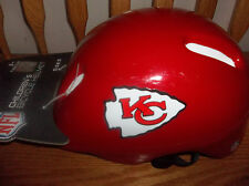 KANSAS CITY CHIEFS CHILDS BICYCLE HELMET (NEW) SIZE LARGE 8+ YOUTH