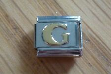 Italian Charms Charm - Gold Letters   Letter G