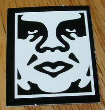 "SHEPARD FAIREY Obey Giant Sticker 1.25X1.5"" MINI ANDRE LOGO from poster print"