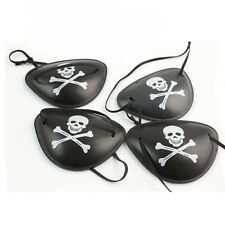 6x Pirate Eye Patch Halloween Birthday Party Favor Bag Costume Dress Up Kids Toy